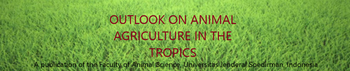 OUTLOOK ON ANIMAL AGRICULTURE IN THE TROPICS